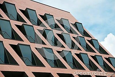 Modernd building