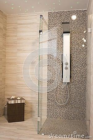 Moderne dusche stockfoto bild 40189741 for Moderne duschen bilder