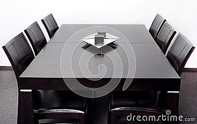 Moderne eettafel stock afbeeldingen afbeelding 16412274 - Moderne eettafels ...