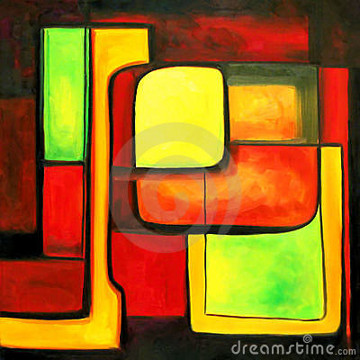 Moderne Farben zeitgenössisch