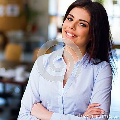 Moderne Geschäftsfrau