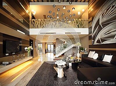 moderne innenarchitektur - wohnzimmer stockbilder - bild: 27926964, Innenarchitektur ideen