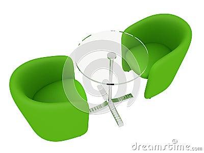 lederst hle getrennt auf wei stockfoto bild 29725430. Black Bedroom Furniture Sets. Home Design Ideas