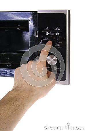 Moderne mikrowelle
