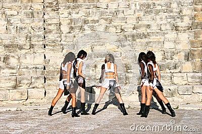 Moderne Tänzer