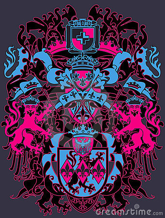 Moderne Wappenkundenauslegung