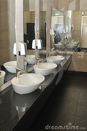 moderne wc stock fotografie afbeelding 13305302. Black Bedroom Furniture Sets. Home Design Ideas