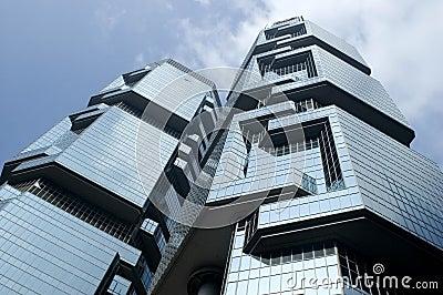 Moderne wolkenkratzer in hong kong stockfoto bild 9053780 - Farbiges modernes appartement hong kong ...