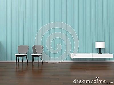 Moderne Woonkamer Met Decoratie Stock Fotos - Afbeelding: 11870353