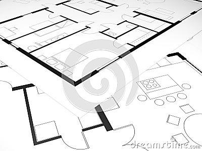 Zwei schlafzimmer hauspl ne m belideen for Hausplan mit garage