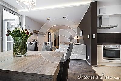 moderne innenarchitektur - wohnzimmer lizenzfreie stockbilder, Innenarchitektur ideen