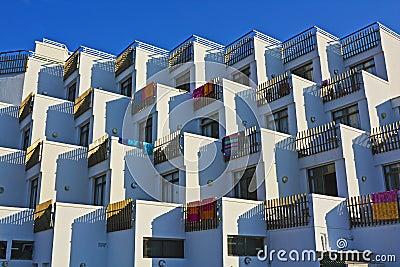 Modernes Mittelmeerhotel
