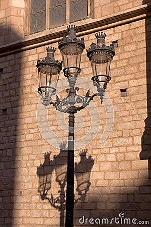 Modernist lamppost