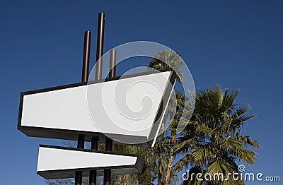 Modernist Sign