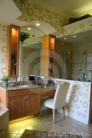 Modernistic Bathroom