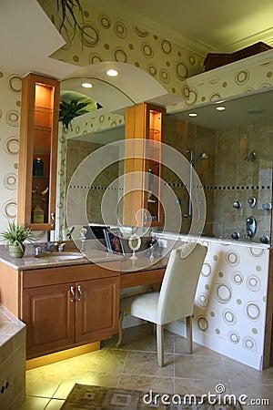 Modernistic Bathroom