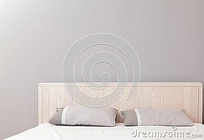 Modernt dubbelt sovrum