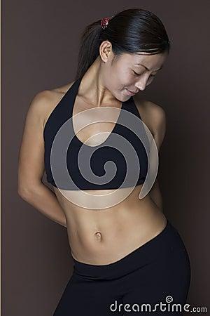 Modèle asiatique de forme physique