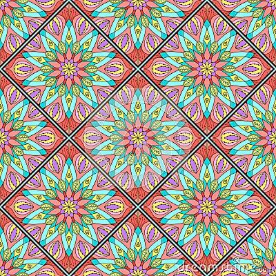 Mod le de mosa que de mandala color illustration de - Modele de mandala ...