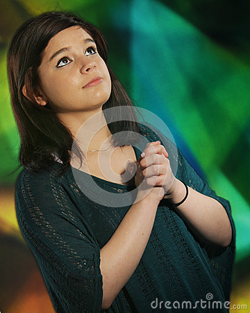Modlitwa nastoletnia