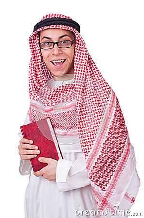 Młody arabski mężczyzna