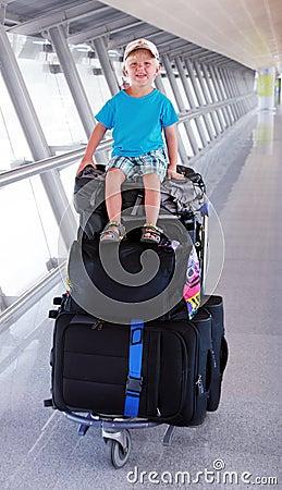 Młody turysta
