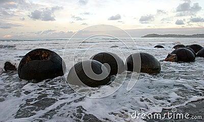 Moeraki Boulders, NZ