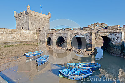 Mogador fortress building at Essaouira, Morocco