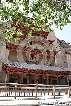 Mogao grottoes UNESCO site, Dunhuang China