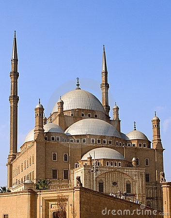 Free Mohamed Ali Citadel Cairo Royalty Free Stock Photography - 3833417