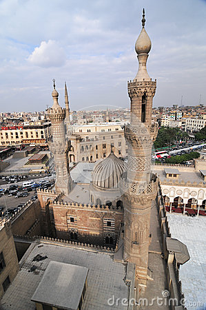 Free Mohamed Ali Mosque, Saladin Citadel - Cairo, Egypt Stock Photo - 44449740