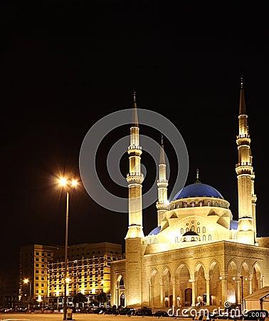 Mohammad El-Amine Mosque, Beirut- Lebanon