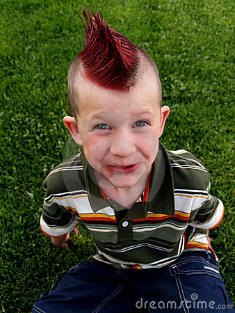Free Mohawk Boy Royalty Free Stock Images - 796279