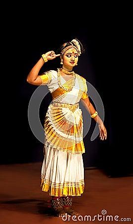 Mohiniyattam dance Editorial Stock Image