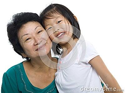 Moi et mon grand-mère