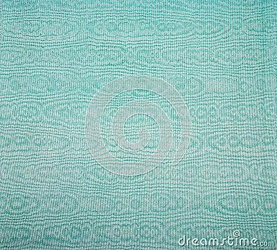 Moire satin fabric