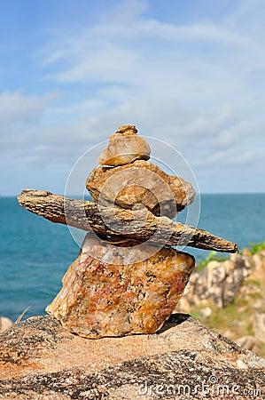 Mojón de piedra