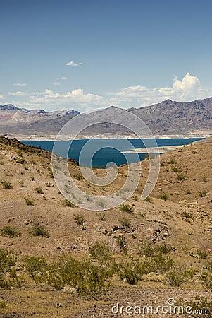 The Mojave Desert in Nevada