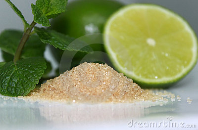 Mojito s ingredients