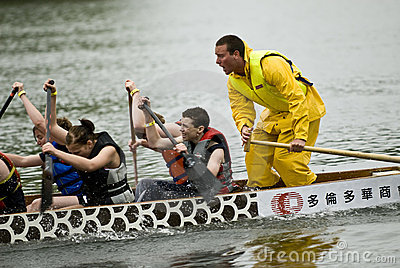 MOJO Rising Dragon Boat racing Editorial Photo