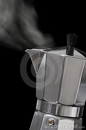 Free Moka Express Coffee Maker Royalty Free Stock Photos - 4259148