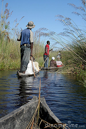 Mokoro Safari in the Delta