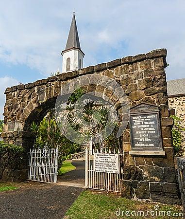 Free Mokuaikaua Church , Hawaii Stock Images - 36258974