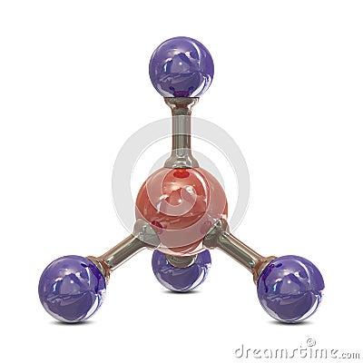 Molécula CH4