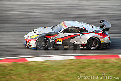 Mola Nissan 46, SuperGT 2010 Editorial Photography