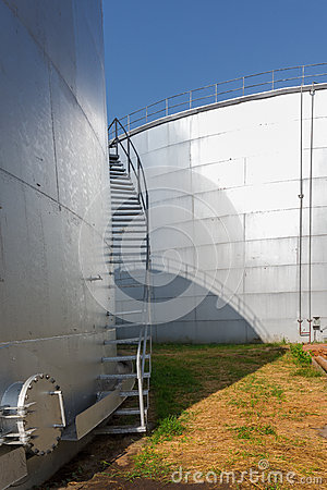 Free Molasses Tank Stock Image - 29060111