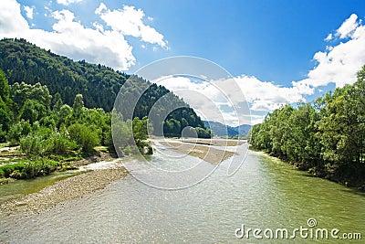 Fluss Moldau