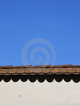 Free Molding With Old Tiles Stock Photo - 14716740