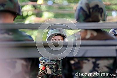 Moldova celebrates National Day Editorial Stock Photo