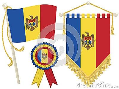 Moldova flags